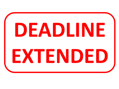 Conference abstract submission deadline extended to 31 January 2020